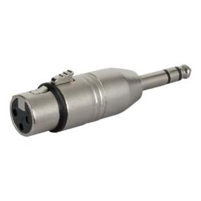DAP FLA24 - Verloop-plug XLR female 3-pin naar Jack male stereo