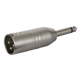 DAP FLA27 - Verloop-plug XLR male 3-pin naar Jack male mono