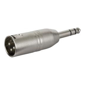 DAP FLA28 - Verloop-plug XLR male 3-pin naar Jack male stereo