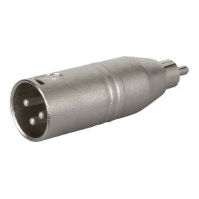 DAP FLA32 - Verloop-plug XLR male 3-pin naar RCA male
