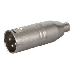 DAP FLA34 - Verloop-plug XLR male 3-pin naar RCA female