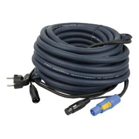 DAP FP06 Licht Power / Signaal combikabel - 15 m