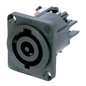 Neutrik NAC3MPB powerCON Chassis connector 32A zwart