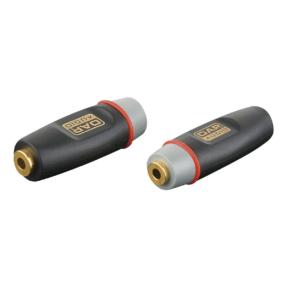 DAP XGA02 - Stereo verloop-plug Mini-jack female naar Mini-jack female