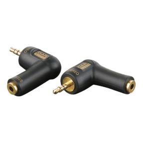 DAP XGA08 - Stereo verloop-plug haaks Mini-jack male naar Mini-jack female