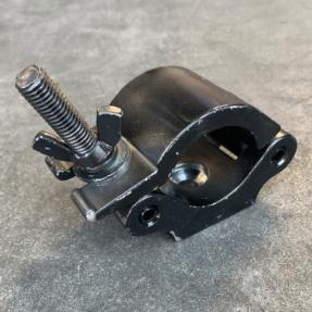 Tweedehands Doughty 50 mm Swivel Coupler WLL 750kg zwart