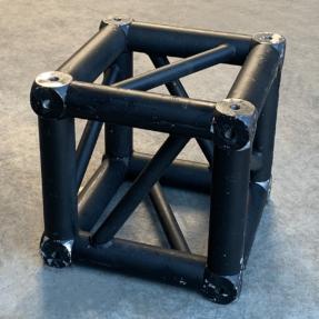 Tweedehands Prolyte S36V truss vierkant boxcorner zwart