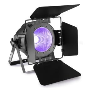 BeamZ Professional COB100UV Par met barndoor