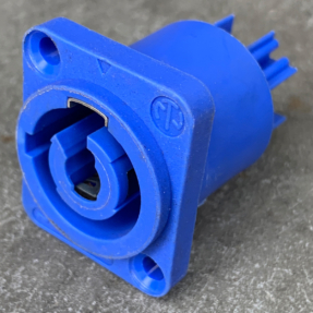 Tweedehands Neutrik NAC3MPA-1 Chassis-input blauw
