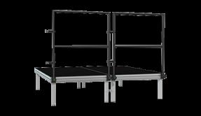 Podium railing