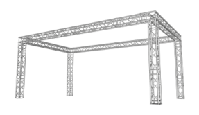 Truss carré stand