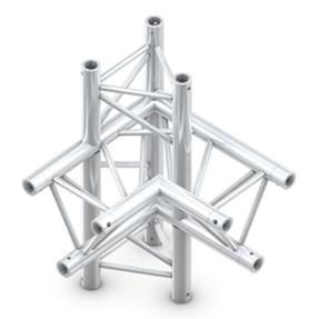 Milos ACM44 truss driehoek deco 4-weg rechts