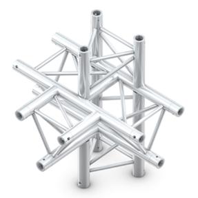 Milos ATM51 truss driehoek deco 5-weg t-stuk