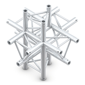 Milos ACM61 truss driehoek deco 6-weg kruis
