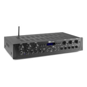 Power Dynamics PV260BT stereo versterker 6-kanalen met Bluetooth - 6x 100W