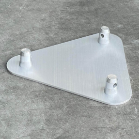 B-stock Global Truss F33 driehoek baseplate male (Alprocon compatibel)