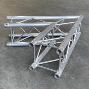 B-stock P34 truss vierkant P30-C20 2-weg 60 graden hoek