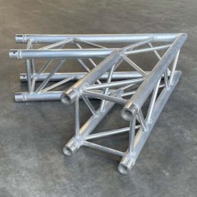 B-stock Eurotruss FD34-L60 truss vierkant 2-weg 60 graden