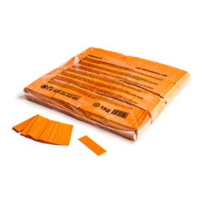MAGICFX® Slowfall confetti 55x17mm - oranje