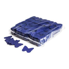 MAGICFX® Slowfall confetti vlinders Ø 55mm - donkerblauw