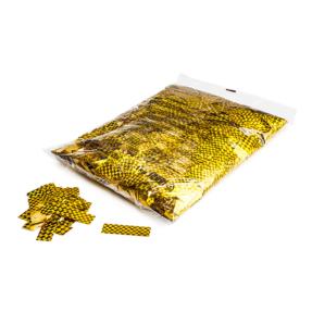 MAGICFX® Laser confetti 55x17mm - goud