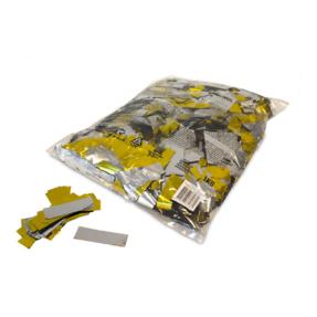 MAGICFX® Metallic confetti 55x17mm - goud - zilver metallic