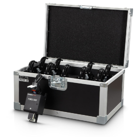MAGICFX® Power Drop set - 10 stuks + clamps en flightcase