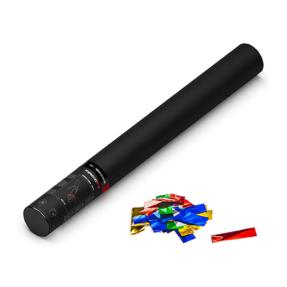 MAGICFX® Handheld Confetti Cannon 50 cm - multicolor metallic