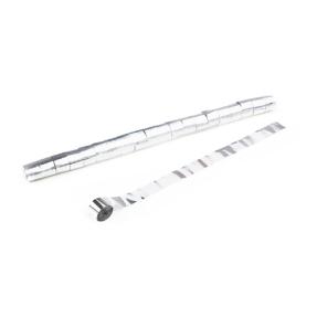 MAGICFX® Streamers 10m x 2,5cm - wit metallic