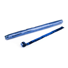 MAGICFX® Stadium Streamers 20m x 2,5cm - blauw metallic