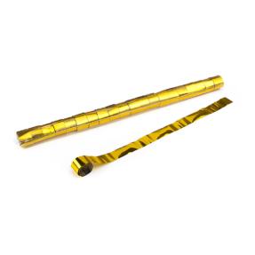 MAGICFX® Stadium Streamers 20m x 2,5cm - goud metallic