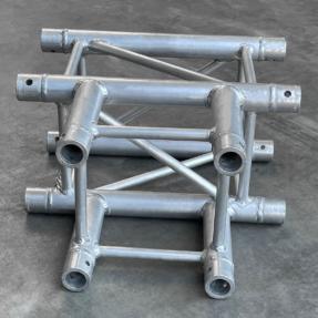 Tweedehands Eurotruss FD34-T truss vierkant 3-weg t-stuk 50x50 cm