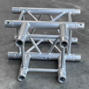 Tweedehands Naxpro-Truss FD34 C35 vierkant truss 3-weg t-stuk 50x50 cm
