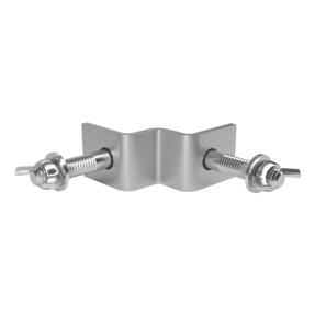 FORTEX hoekconnector voor STAGE750 podiumleuning - 2 stuks
