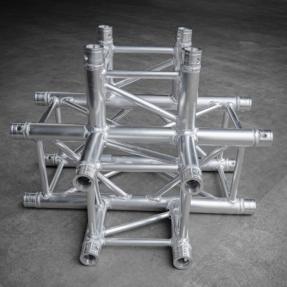 B-stock Milos QLU40 truss vierkant 4-weg t-stuk