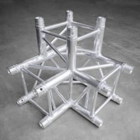 B-stock Milos QLU30 truss vierkant 3-weg hoek