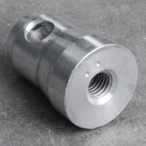 Tweedehands PRO-truss halve conische baseplate koppeling