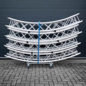 B-stock Duratruss DT34 vierkant truss cirkel ø6m 8 delen